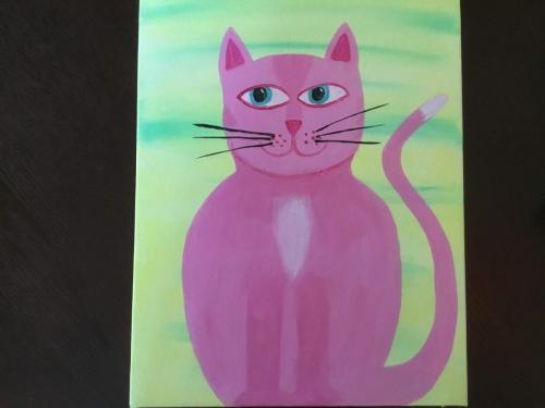 Mr. Cat (Pink)