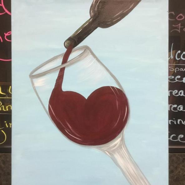 Heart Pour