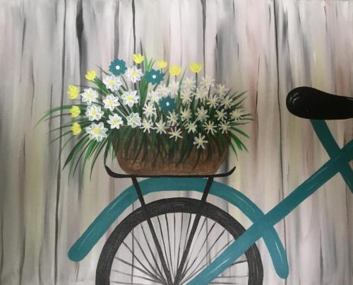 Bike w/Flowers