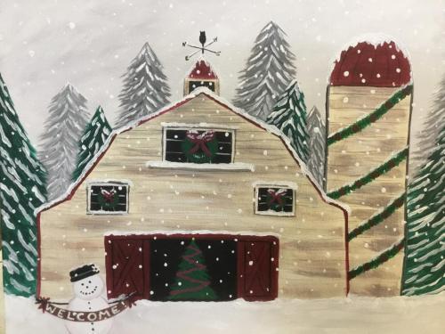 Christmas Barn/Silo