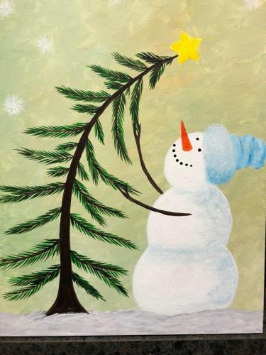 I Love Christmas Snowman